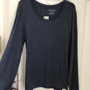 """Blue"" MAISON JULES  XL Long sleeve top"